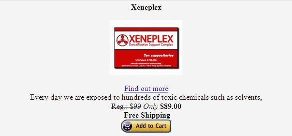 Xeneplex XENEPLEX GLUTATHIONE COFFEE THERAPY